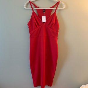 Women's Windsor Red Midi Strappy Dress